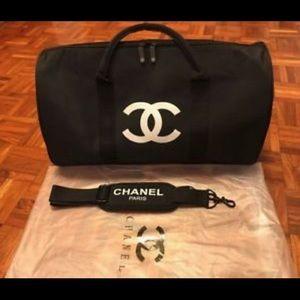 Chanel VIP travel / gym duffle bag